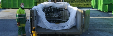 2020 – Calendrier de collecte des déchets d'amiante