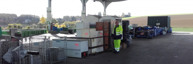 Tonnages de déchets collectés en 2018